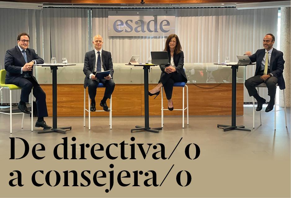 De directiva/o a consejera/o