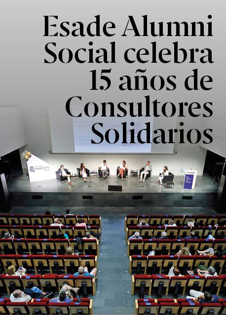 Esade Alumni Social celebra 15 años de Consultores Solidarios