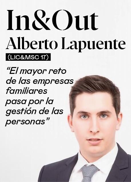"""Alberto Lapuente (Lic&MSC 17): """"El mayor reto en las empresas familiares pasa por la gestión de las personas"""""""