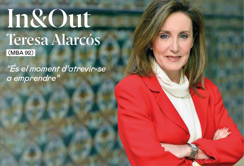 """Teresa Alarcós (MBA 92): """"La cultura de l'emprenedoria s'està construint ara i és el moment d'atrevir-se"""""""