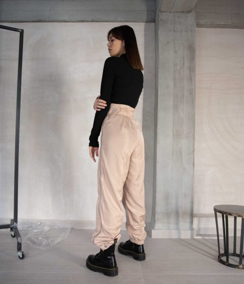 FLAME PANTS (BEIGE)