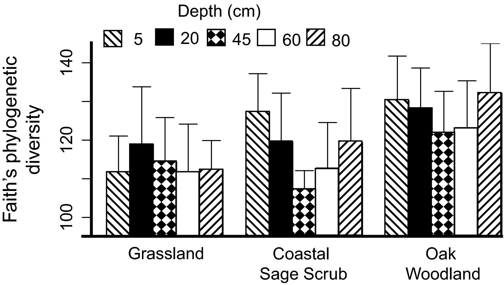 Bacterial diversity is positively correlated with soil