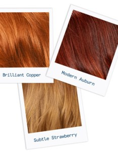 Which red hair color is right for me copper auburn or strawberry also home how light dark can you go rh esalon