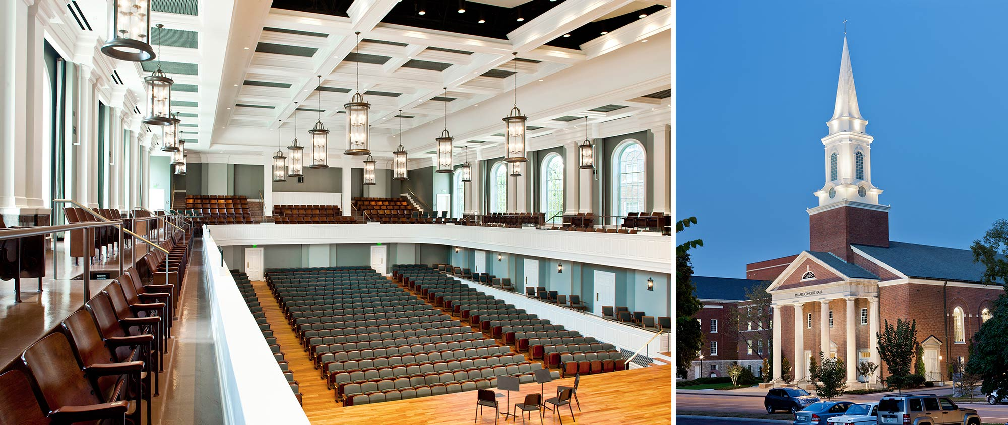 Belmont University McAfee Concert Hall ESa