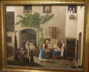 Michael Neder, Arrival from the Fields, 1829, Wien Museum