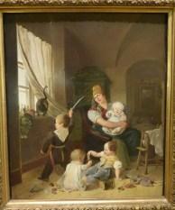 Johann Matthias Ranftl, In der Kinderstube, 1830, Wien Museum
