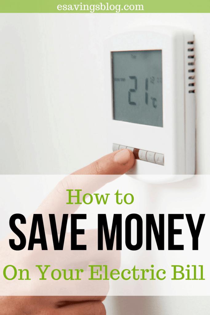 Save Money On Electricity Esavingsblog