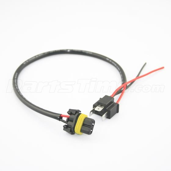 extension wire 9006 hb4 hid xenon headlight wiring harness plugplay