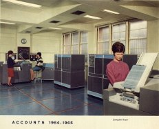 Accounts Department 1964-1965