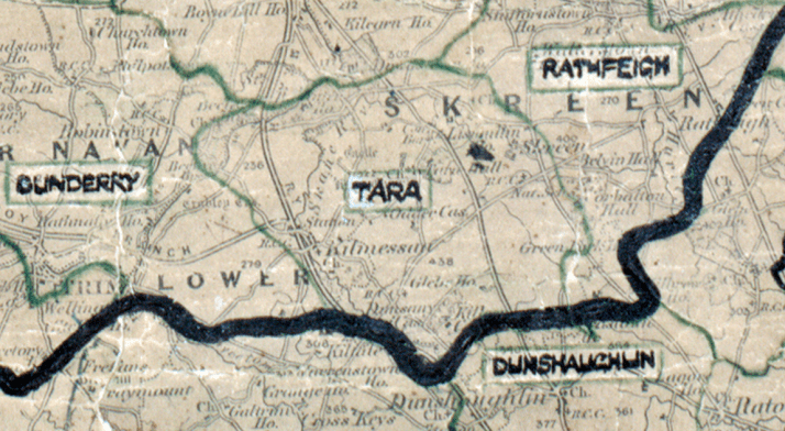 Tara map -dundalk-big