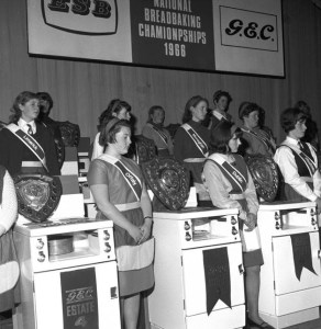 National Breadmaking Championship Student Final, in partnership with GEC, Limerick City Theatre, 12 December 1966