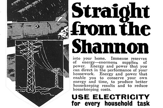 ESB advertising from the 1920s