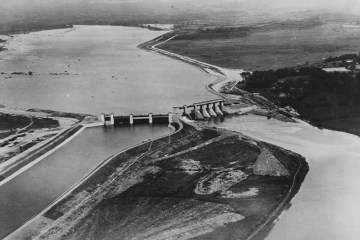 SS_Aerial view of Parteen Weir
