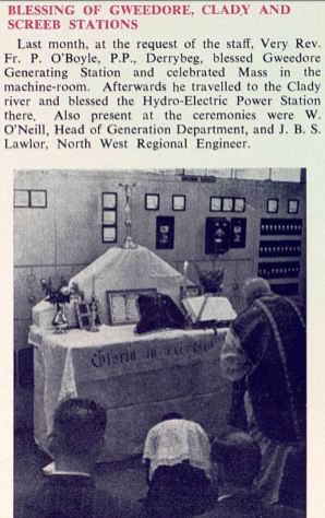 Blessing of Gweedore Station, 1959