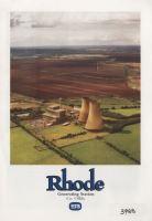 Rhode PR Pamphlet, 1980s