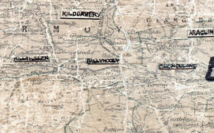 Ballyhooly-Map-cork