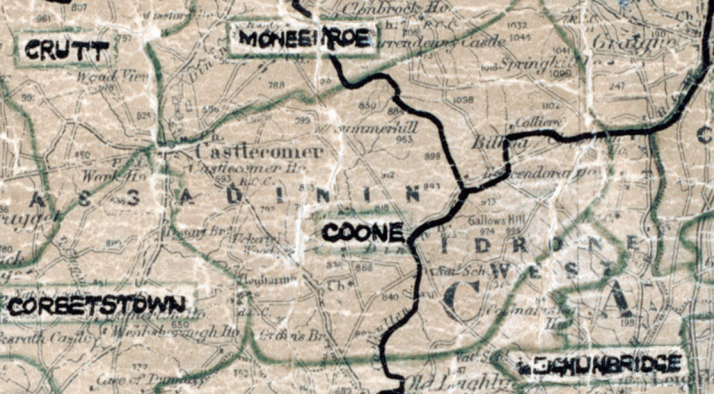 Coone-map-portlaoise