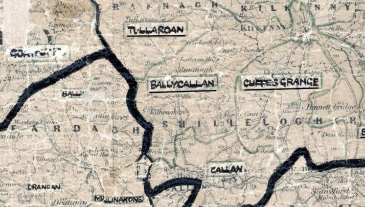 Ballycallan-Map-portlaoise