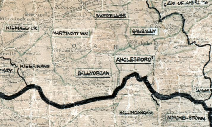 Ballyorgan-Map-limerick