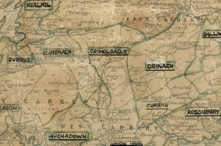 Drimoleague-Map-cork