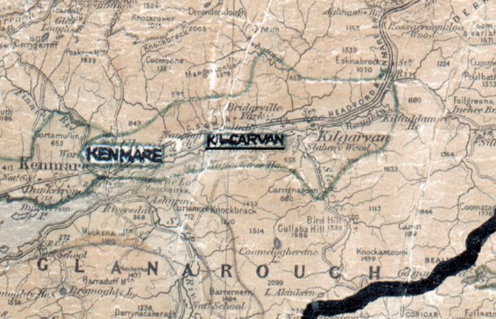 Kilgarvan-Map-tralee