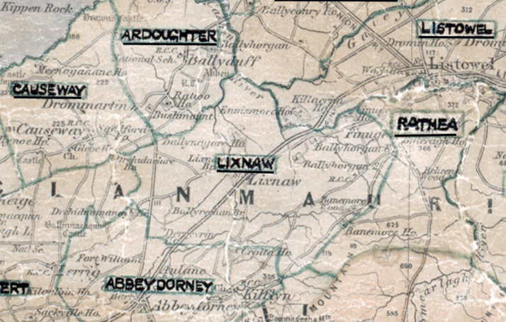 Lixnaw-Map-tralee