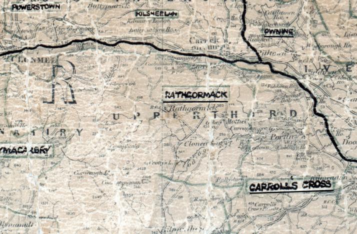 Rathgormack-Map-waterford