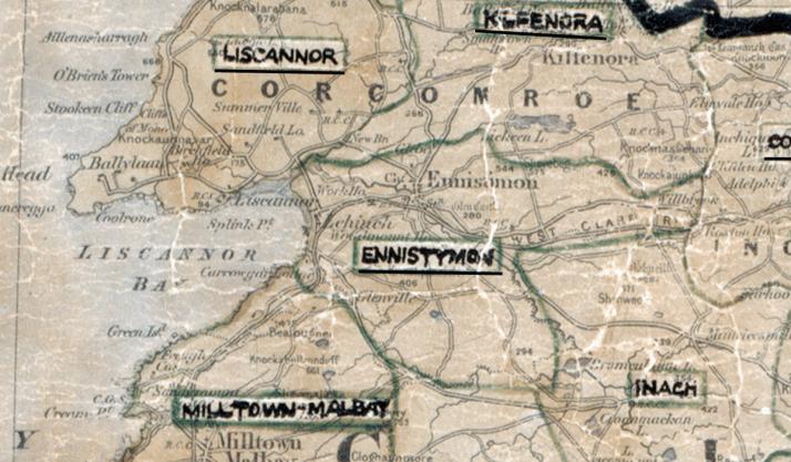Ennistymon-Map-limerick