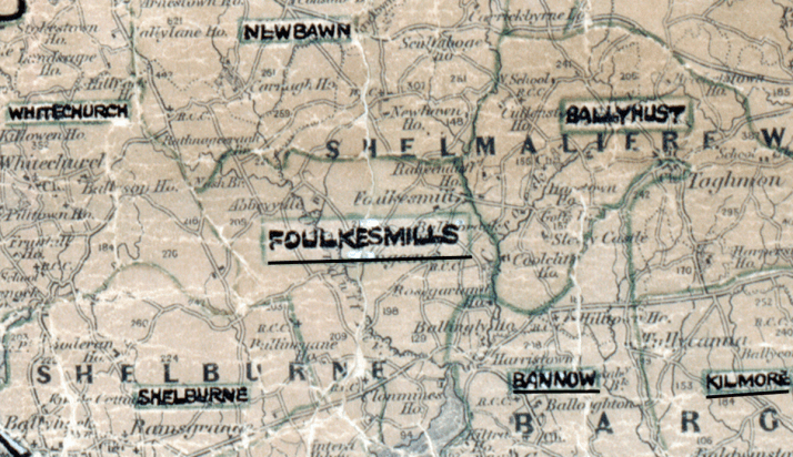 Foulksmills-Map-waterford