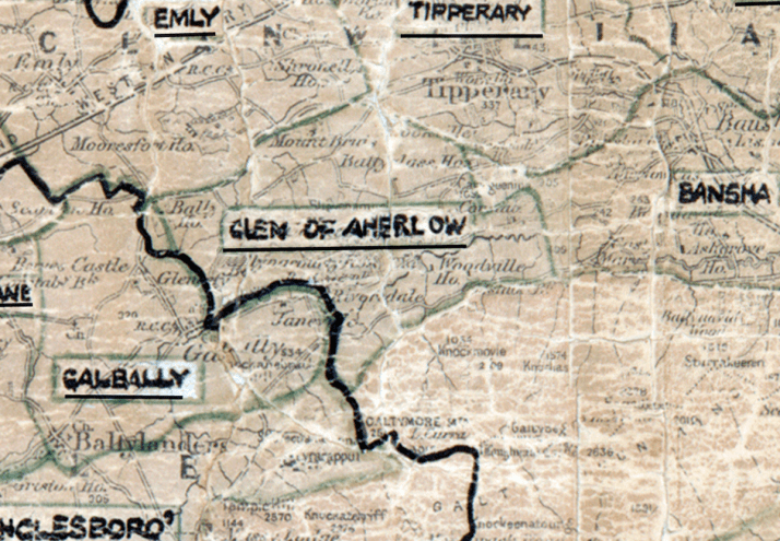 Glen-of-Aherlow-Map-limerick