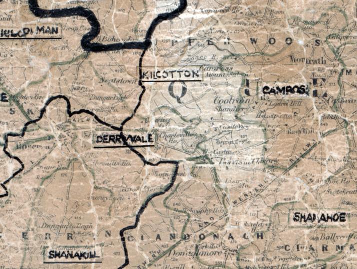 Kilcotton-Map-portlaoise