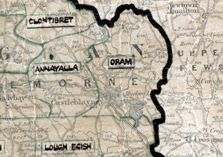 Oram Map dundalk-big