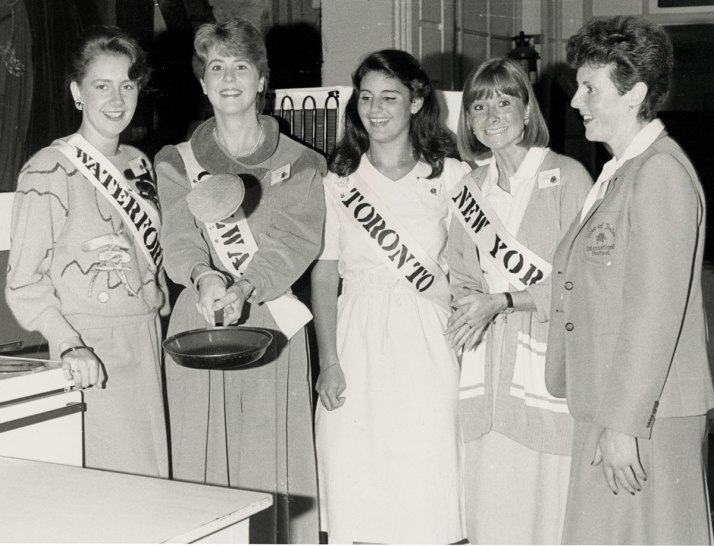 1984 Rose of Tralee - ESB cookery