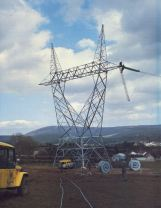Constructing a 400kV line