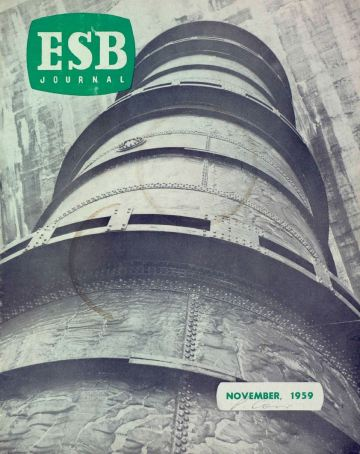 Penstock at Ardnacrusha, ESB Journal, 1959