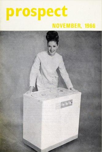 ESB private label twin-tub washing machine, Prospect, 1966