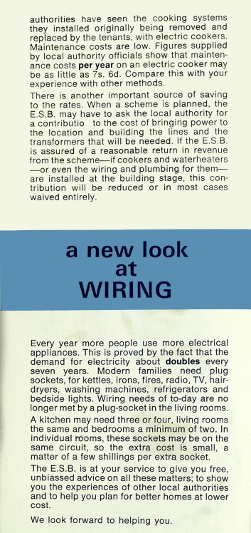 Electricity in Local Authority Housing, c1958, p 6