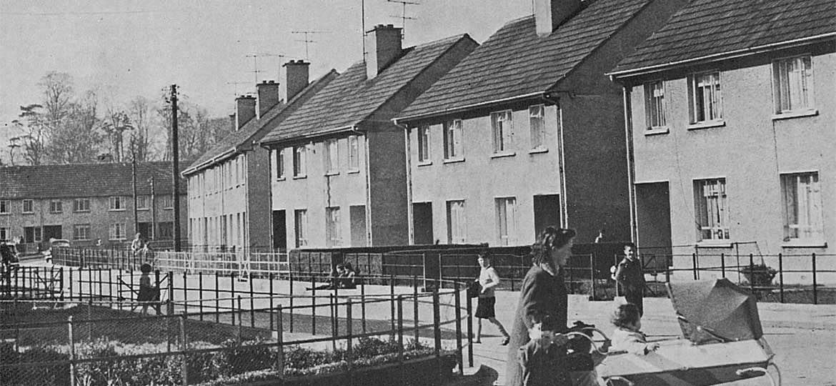 Electricity in local authority housing, 1950s-60s