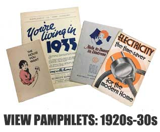 View pamphlets: 1920s-30s