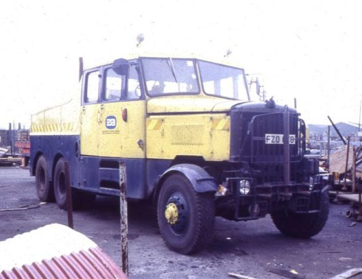 1968 Scammell Constructor, FZO 678. Retired 1995.