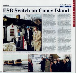 'ESB Switch on Coney Island' (Electric Mail article, January 2000)