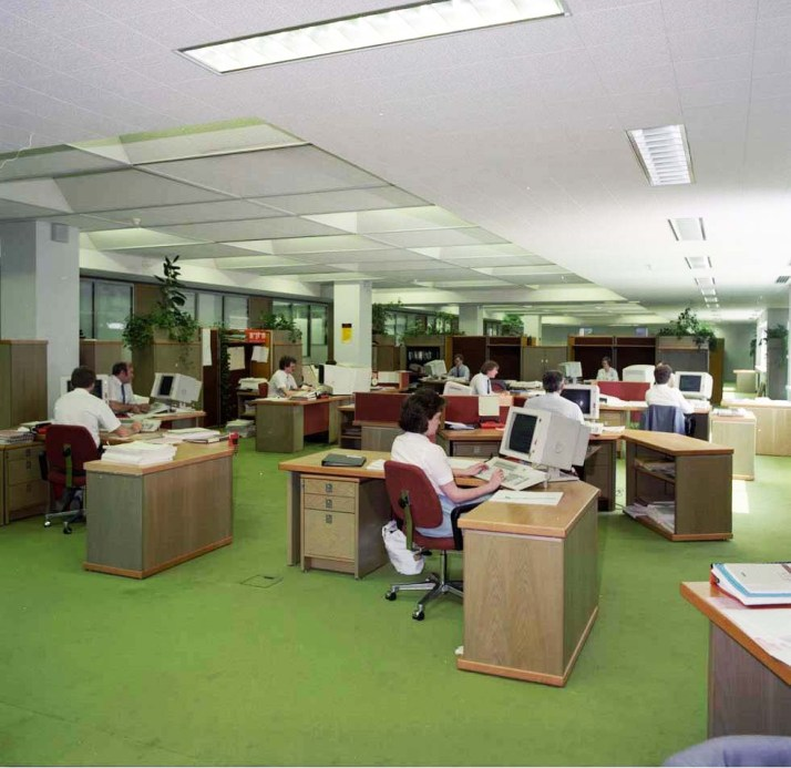 ESB Computer Applications Division, New Systems Development Area, 1987