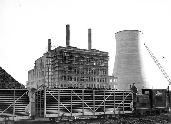 Portarlington Station construction