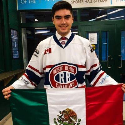 #OrgulloMexicano: Jorge Pérez hace historia en el hockey sobre hielo de Canadá