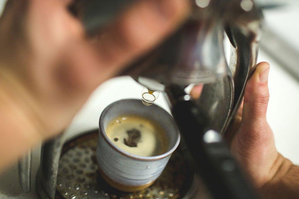 Haciendo café