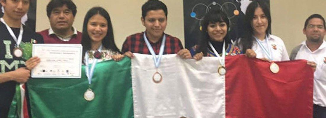 #MexicanosEstelares: Logra delegación mexicana tres medallas en la Olimpiada de Astronomía