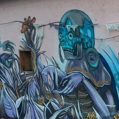 Oaxaca, una ciudad que lo tiene todo... hasta grafiti artístico