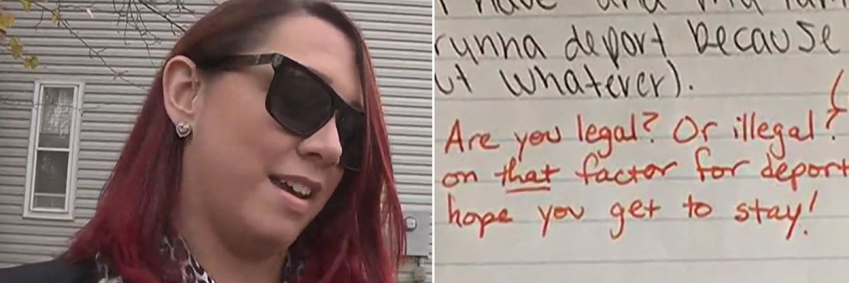"#Reprobada: Insensible maestra pregunta a su alumna latina si es ""ilegal"""
