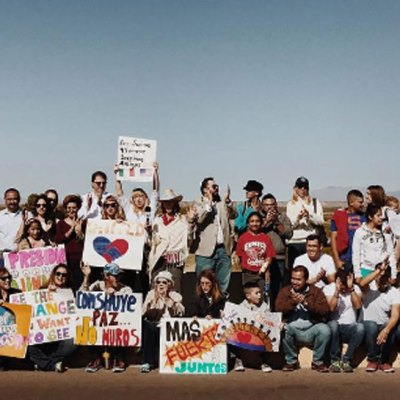 #Unidos: Mexicanos y estadounidenses se declaran una sola comunidad