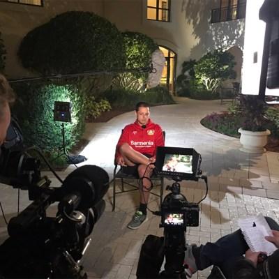Imagen tomada de Twitter, cuenta: @bayer04_es, del Bayer Leverkusen